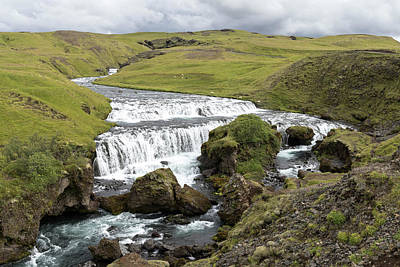Photograph - Skoga River, Iceland by Jason Clarke