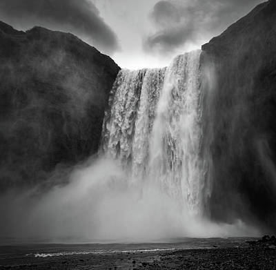 Photograph - Skogafoss 2 by Bill Martin