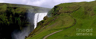 Photograph - Skogafoss Iceland by Michael Canning