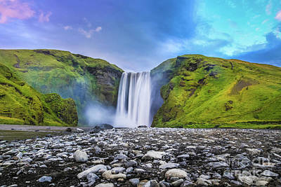 Photograph - Skogafoss by JR Photography