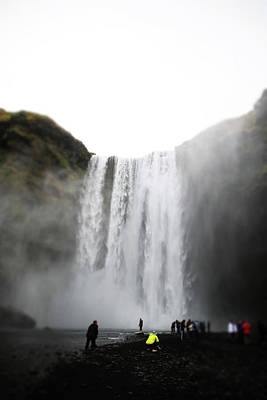 Photograph - Skogafoss by Perggals - Stacey Turner