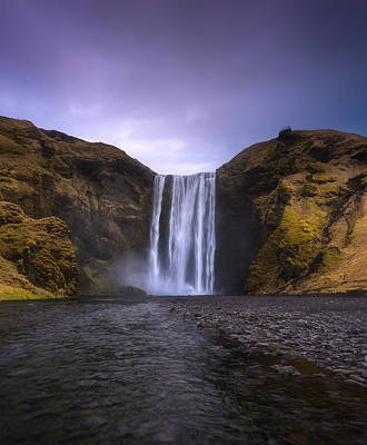 Treasures Photograph - Skogafoss by Tor-Ivar Naess