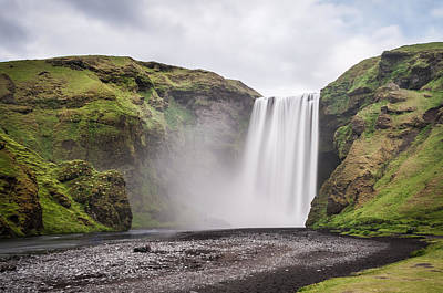 Photograph - Skogafoss Waterfall by Michelle Lee