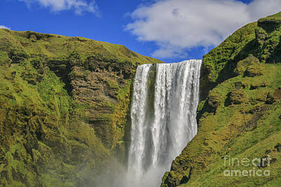 Photograph - Skogafoss Waterfall by Patricia Hofmeester