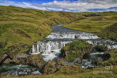Photograph - Skogafoss Waterfalls  by Patricia Hofmeester