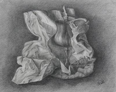 Drawing - Skol by Grace Diehl