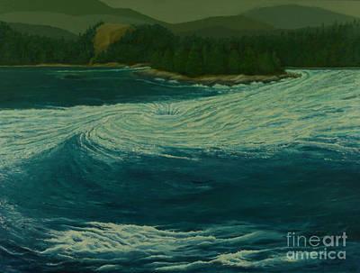 Painting - Skookumchuck Rapids by Patricia Lynn