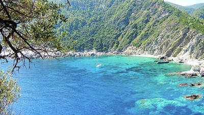 Skopelos Photograph - Skopelos Sea View. by Daniele Zambardi