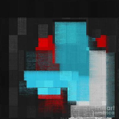Rectangles Digital Art - Skouarios 02a - J049097164 by Variance Collections
