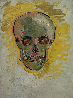 Other Painting - Skull-1 by Vincent van Gogh