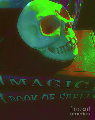 Photograph - Skull And Spells by Todd Breitling