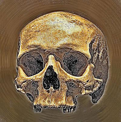 Skull. Art Print by Andy Za