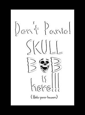 Photograph - Skull Bob T-shirt by Phil Koch