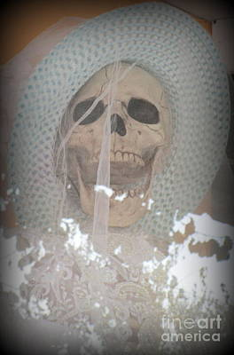 Photograph - Skull Bride by Randall Weidner
