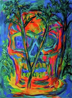 Painting - Skull Island by Kendall Kessler