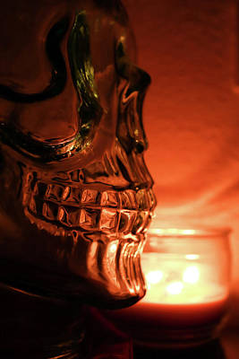 Photograph - Skull by Lora Lee Chapman