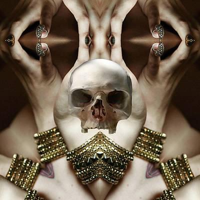 Digital Art - Skull Magic by Matthew Lacey