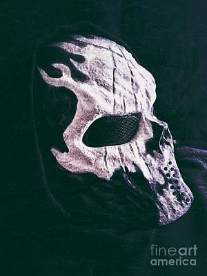Photograph - Skull Mask by Tony Baca