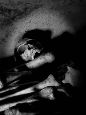 Photograph - Skull N Bones by Kyle West