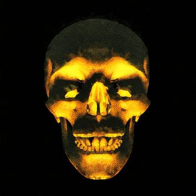 Skull Of Death Art Print