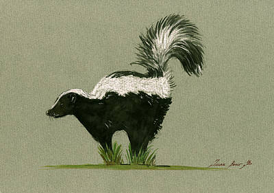 Skunk  Original by Juan  Bosco