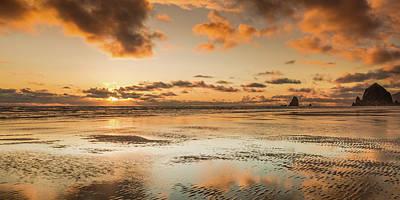 Photograph - Sky Ablaze by Don Schwartz