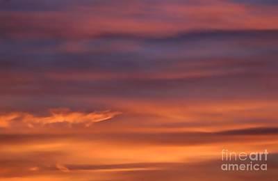 Photograph - Sky Aflame by Karen Sydney