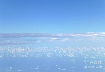 Photograph - sky and clouds M1 by Francesca Mackenney