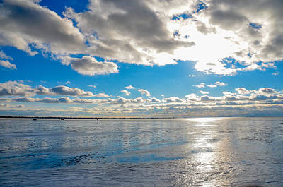 Photograph - Sky And Ice by Randy J Heath