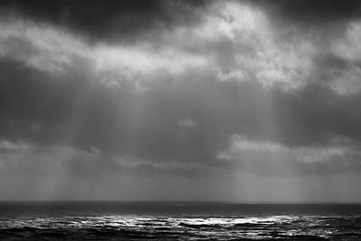 Art Print featuring the photograph Sky And Ocean by Ryan Manuel