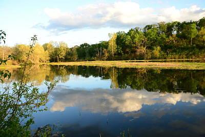Photograph - Sky And Water by Vonda Barnett