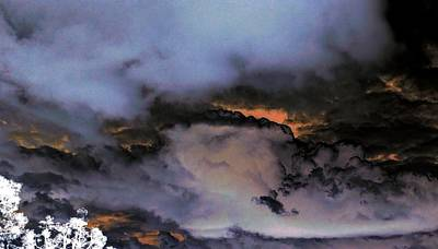 Photograph - Angry Clouds by Richard Yates