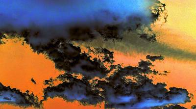 Photograph - Deep Blue Clouds by Richard Yates