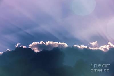 Sky Art Art Print