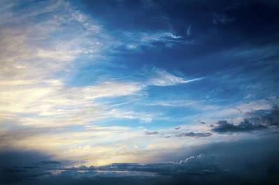 Sky At Airport Mesa - Sedona Art Print