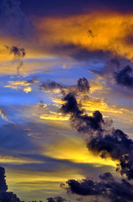 Photograph - Sky At Sunset by Rose  Hill