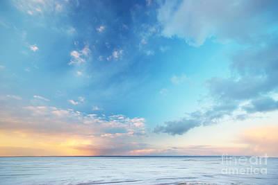 Spring Scenes Digital Art - Sky Background by Caio Caldas