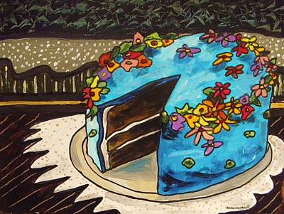 Painting - Sky Blue Cake by John Williams