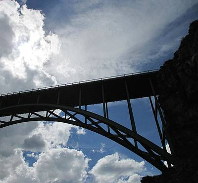 Photograph - Sky Bridge by Jeff Gater