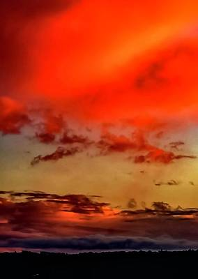 Photograph - Sky Drama  by Cliff Norton