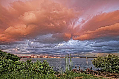Photograph - Sky Drama by HH Photography of Florida