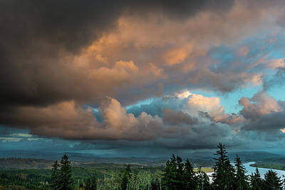 Photograph - Sky Drama by Robert Potts
