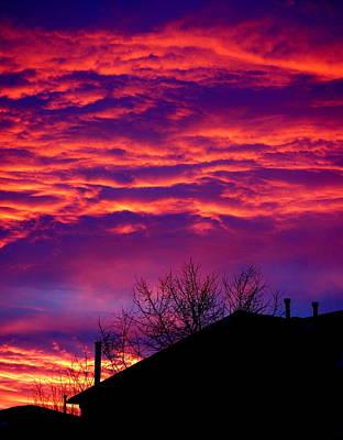Photograph - Sky Drama by Valentino Visentini