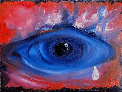 Painting - Sky Eye                                  71 by Cheryl Nancy Ann Gordon