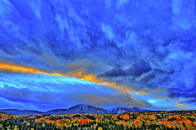 Art Print featuring the photograph Sky Fall by Scott Mahon