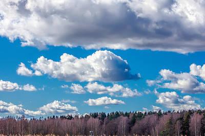 Dolphine Photograph - Sky Figure by Leif Sohlman