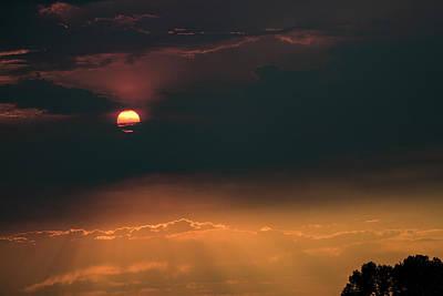 Photograph - Sky Fire by Deborah Hughes