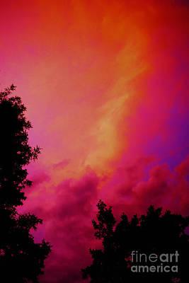 Painting - Sky Fire by Expressionistart studio Priscilla Batzell