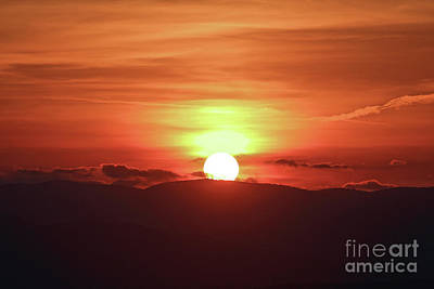 Photograph - Sky Fire by Rick Lipscomb