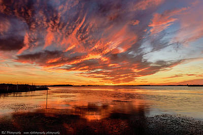 Photograph - Sky Fire by Russell Pugh